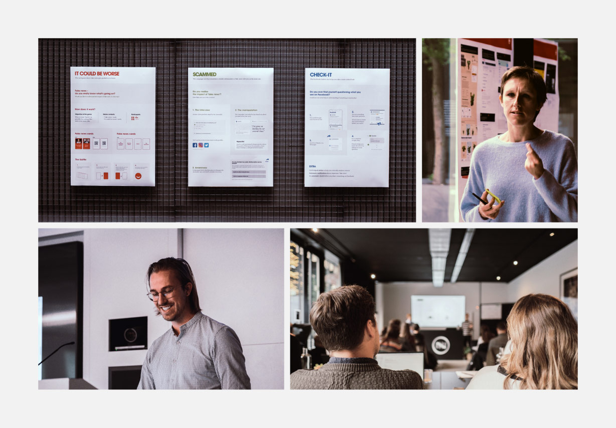 A multidisciplinary team to brainstorm concepts that went beyond digital