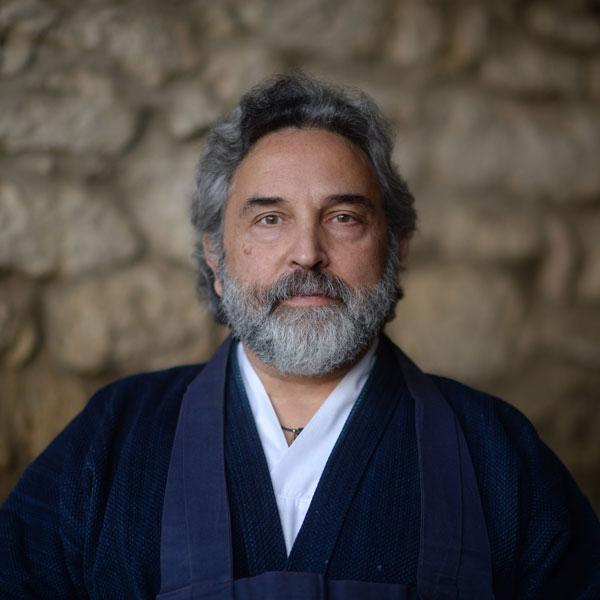 Porträt Tatsugen Ravi Welch Sensei
