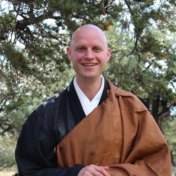 Porträt Zenki Christian Dillo Roshi Zen