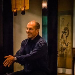 Porträt Russell Delman Zen