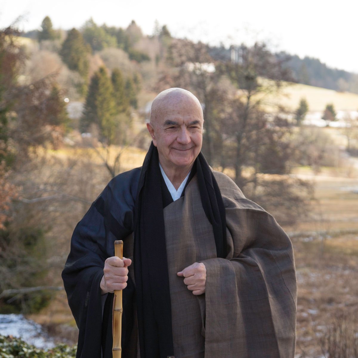 Porträt Zentatsu Richard Baker Roshi Zen