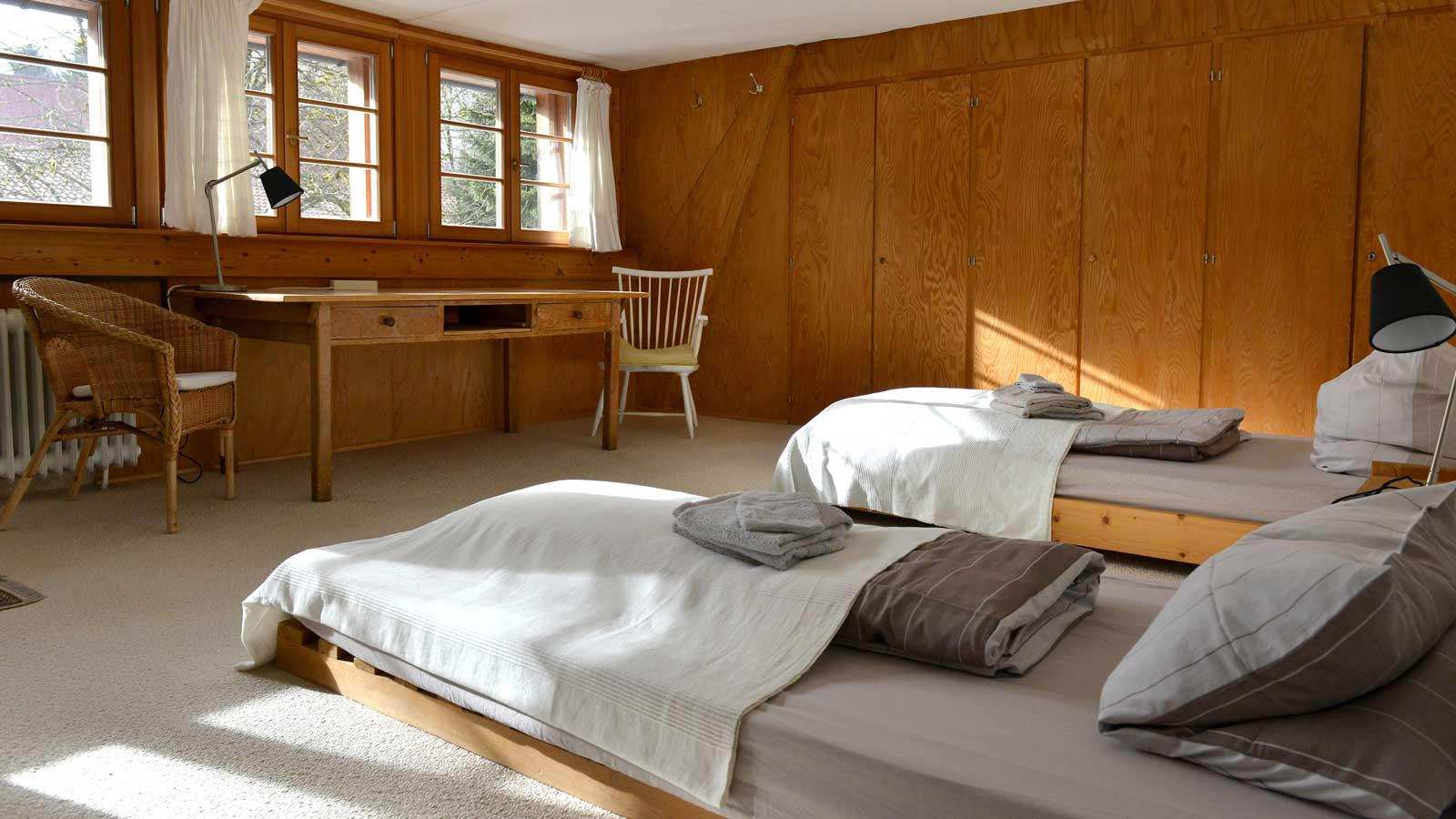 Zen Buddhistisches Zentrum Schwarzwald Doppelzimmer, Zimmer im Zenkloster