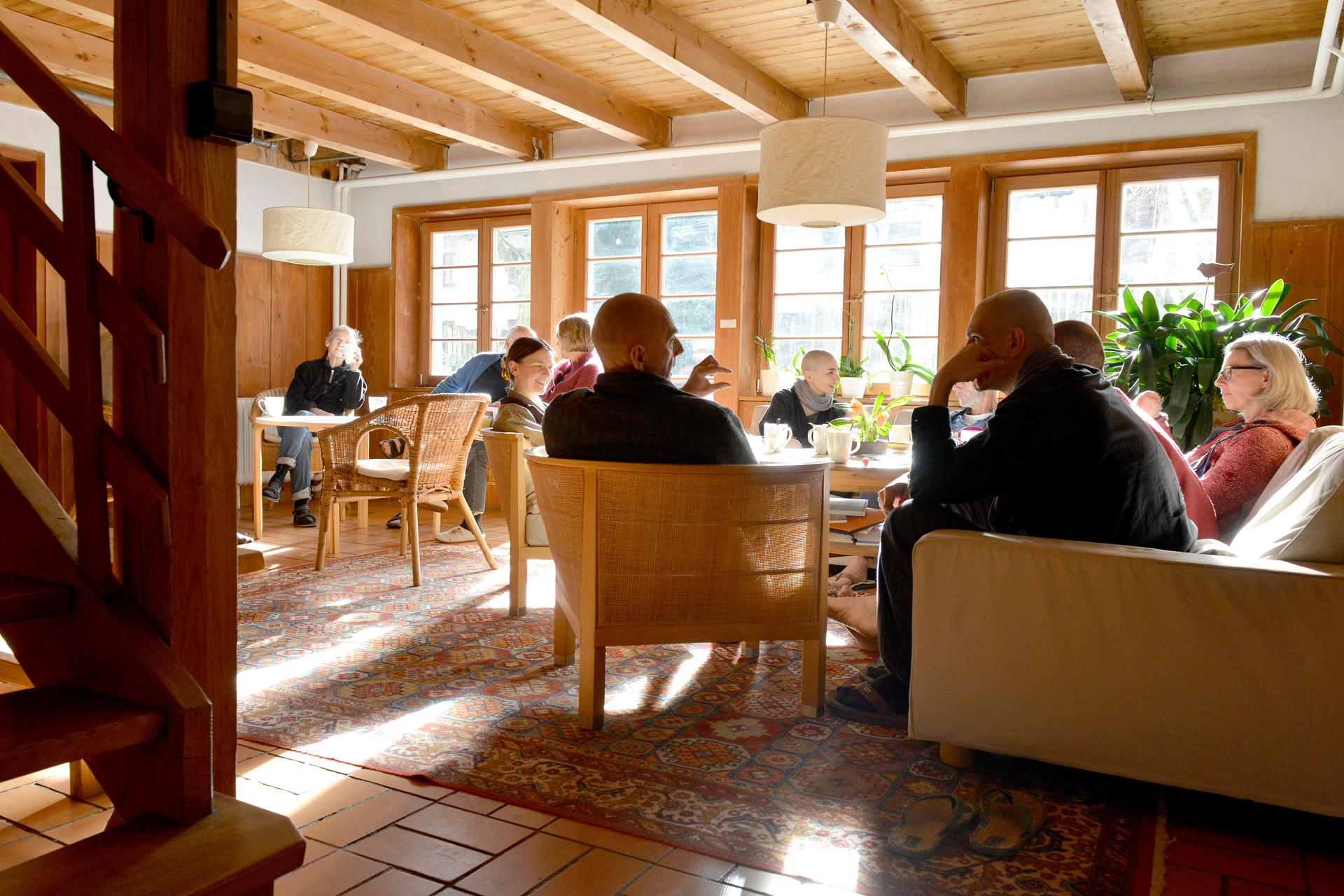 Johanneshof Quellenweg Aufenthaltsraum, Zen Buddhistisches Zentrum Schwarzwald