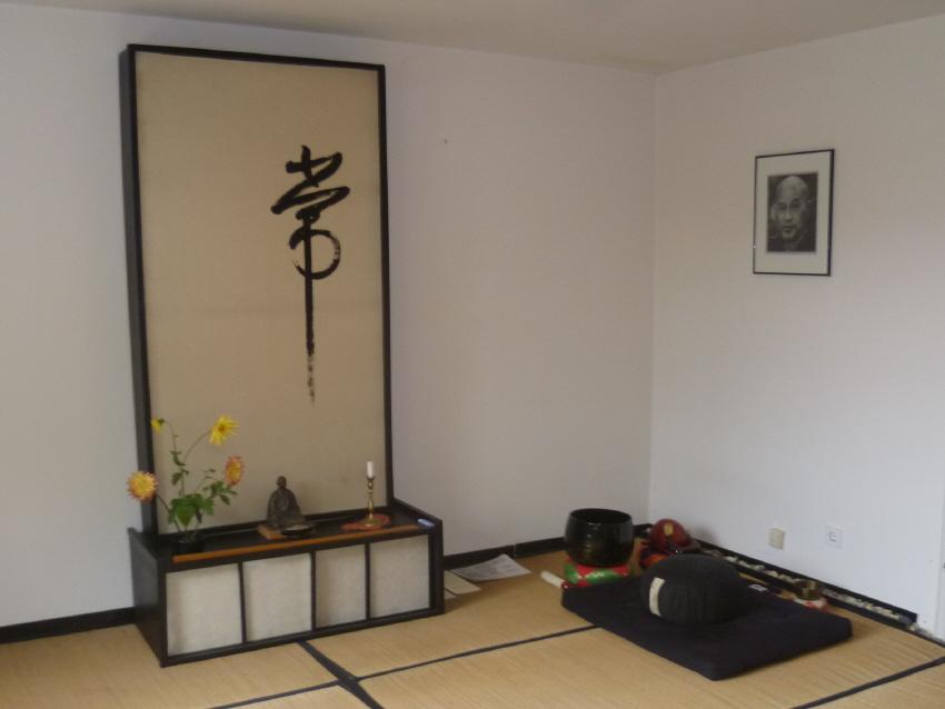 Meditation zen zazen buddhismus Karlsruhe