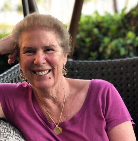 Porträt Linda Evans Delman Zen