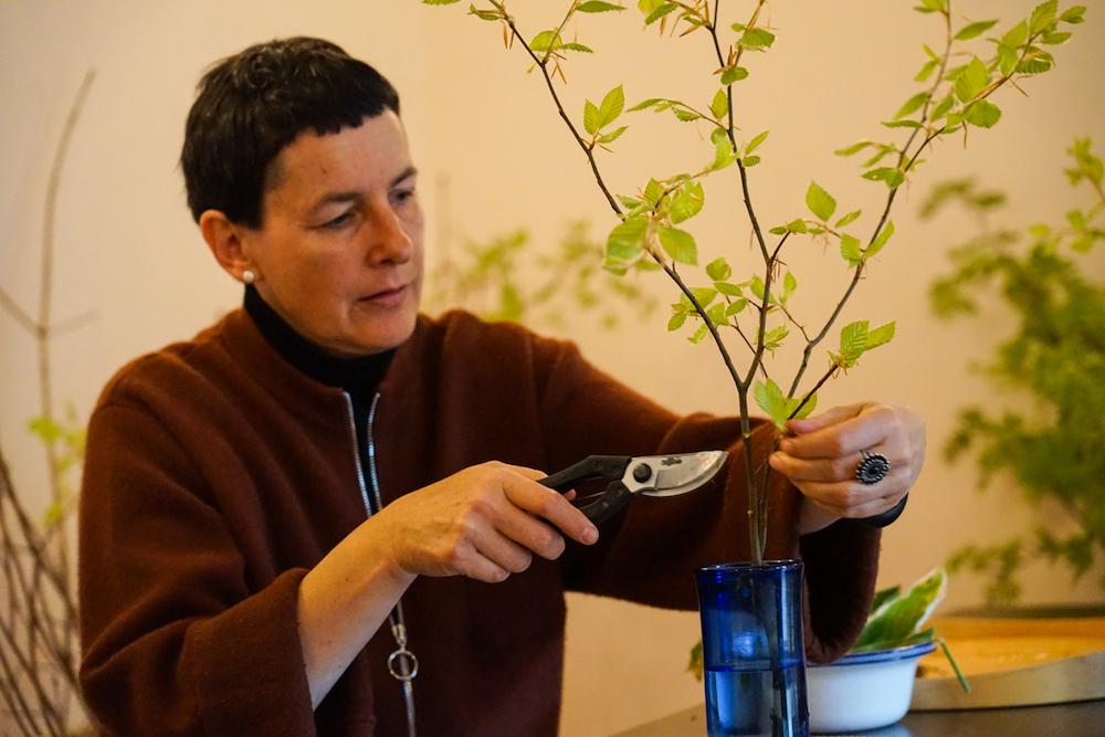 Ikebana Retreat Entspannung Buddhismus Meditation Kunst Zen Zazen japanische Blumensteckkunst, Monika Wolf-Hirsch