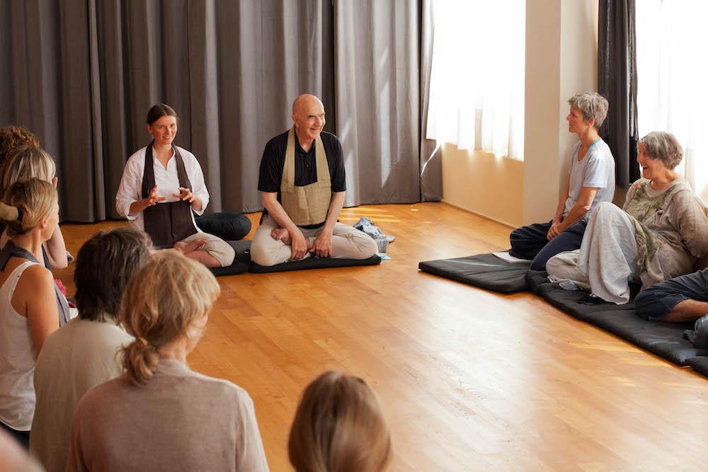 meditation Johanneshof zen zazen johanneshof dharma sangha nicole baden sensai baker roshi