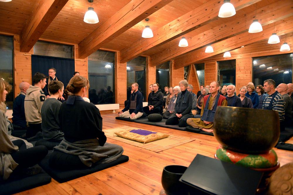 zen zazen meditation dharma sangha johanneshof buddhismus schwarzwald Ryuten Paul Rosenblum Roshi
