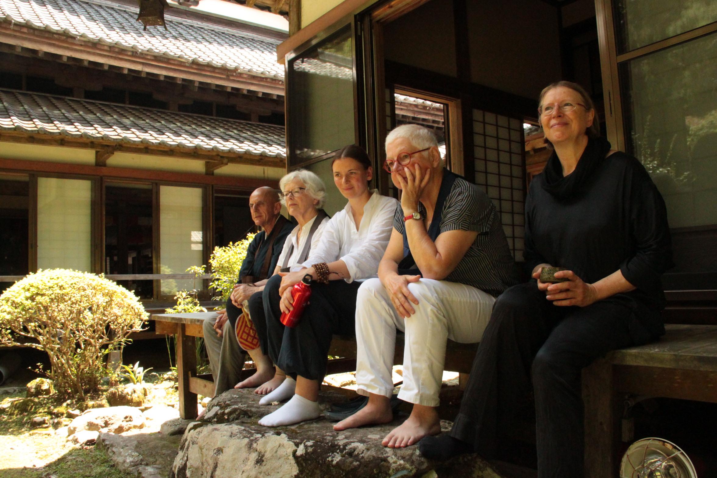 Japan Zen Reise Ikyo Engel Roshi Nicole Baden Roshi