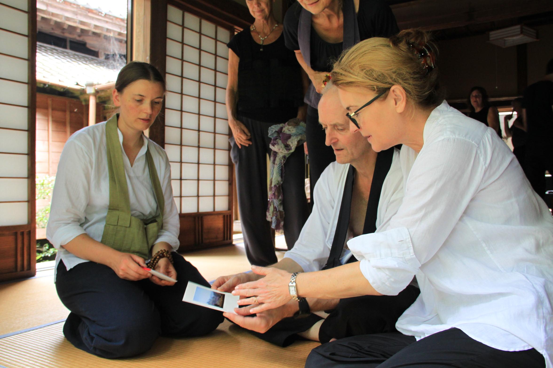Japan Zen Reise Beate Aldag Ulrich Halstenbach Nicole Baden Roshi