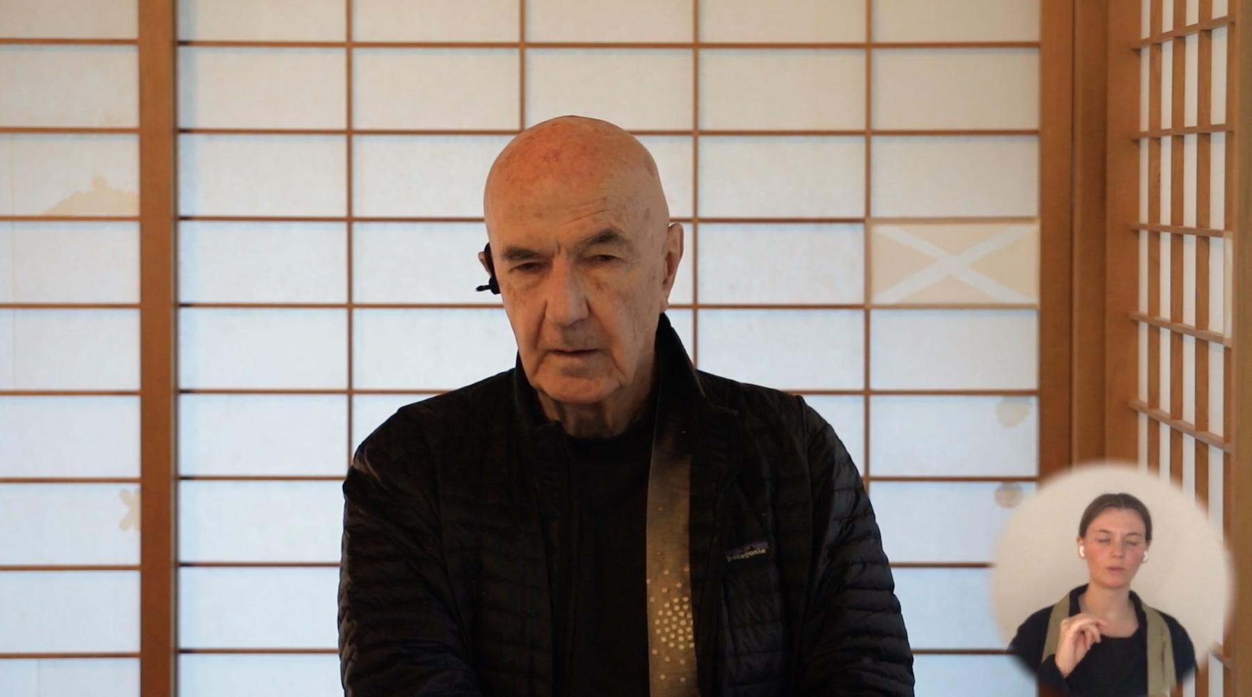 Zentatsu Baker Roshi, Online Vortrag, Yogische Welt