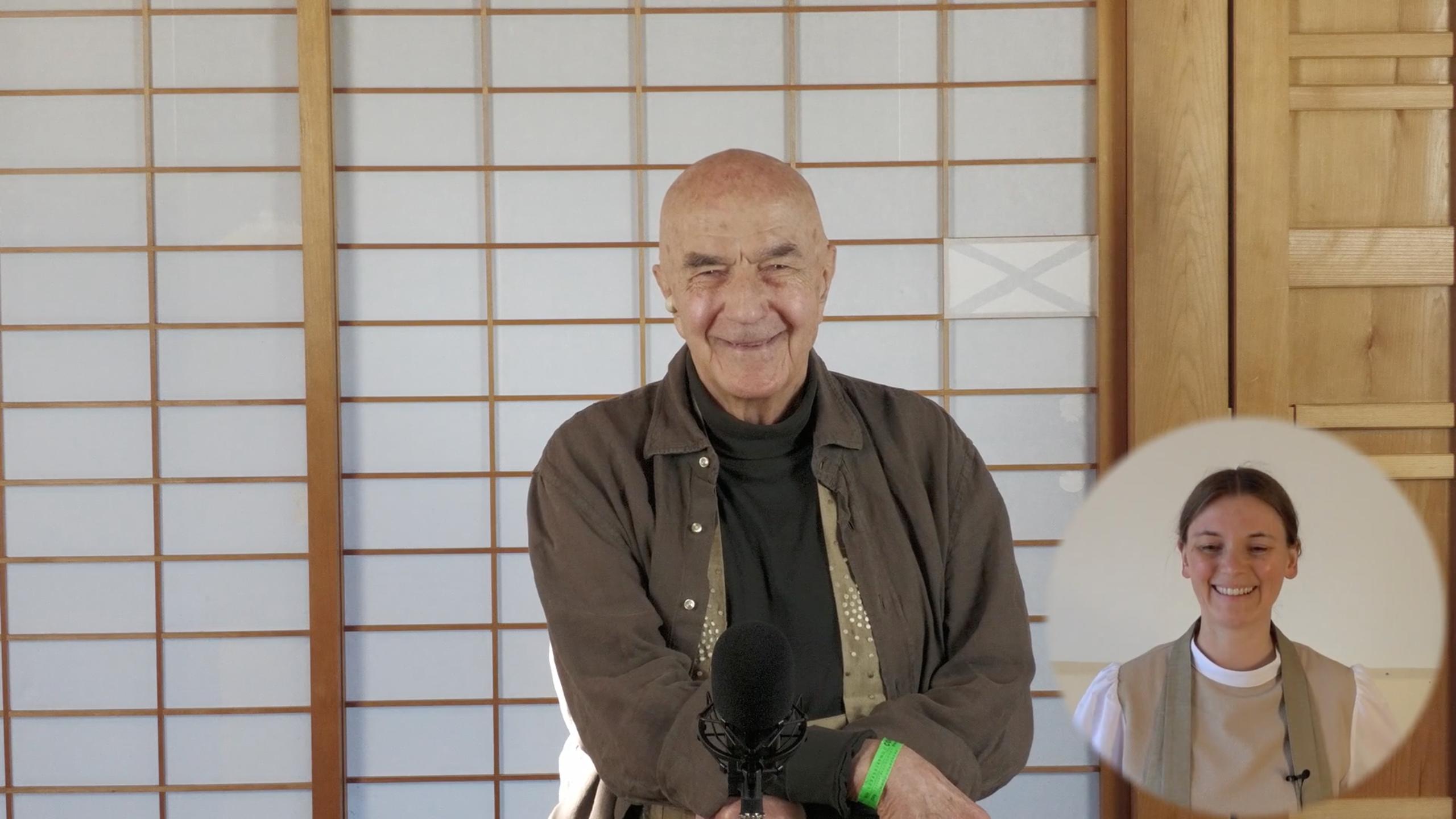 Zentatsu Richard Baker Roshi, Online Live Veranstaltung, Zen Vorträge, Dharma Now Teil 2