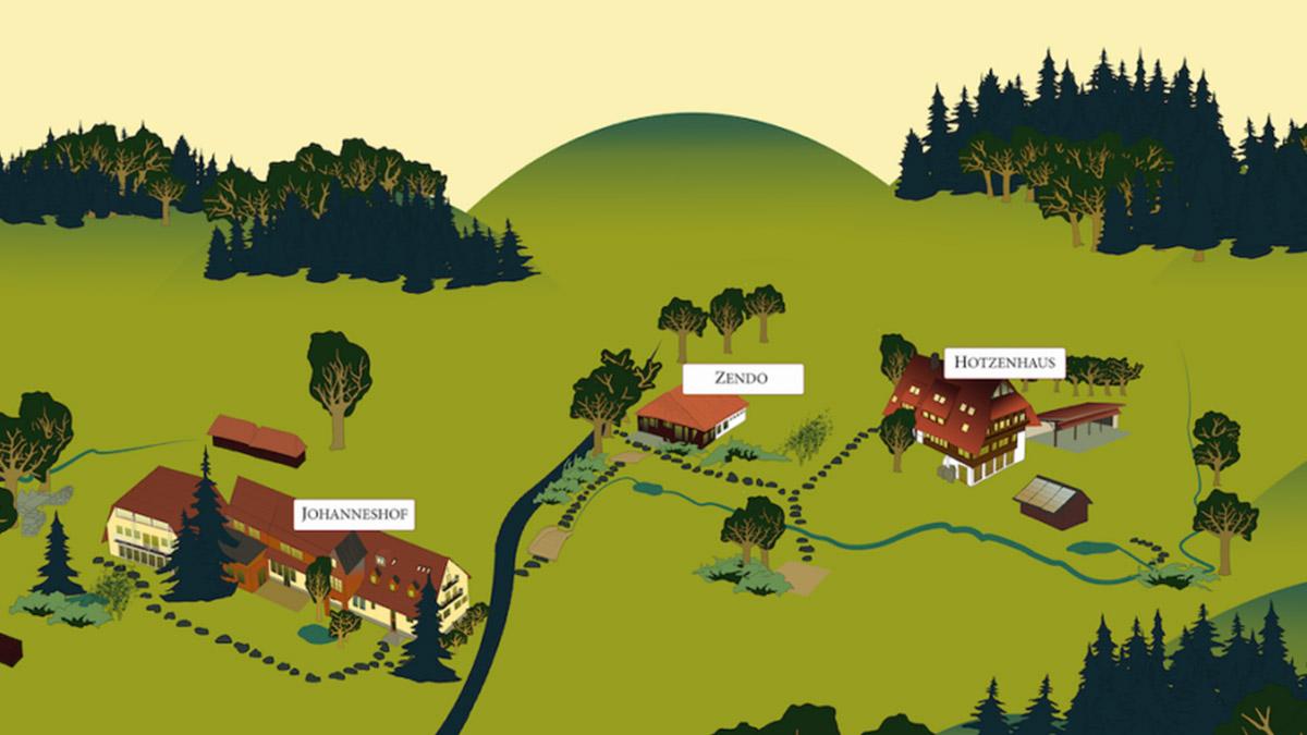 Zen Buddhistisches Zentrum Schwarzwald, administrativer Bereich, Mitarbeiter*in Büro- und Gäste-Management, Buchhaltung, Herrischried