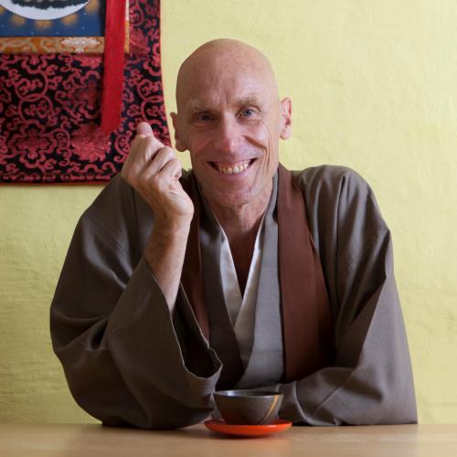 Porträt von Shōsan Gerald Weischede Roshi