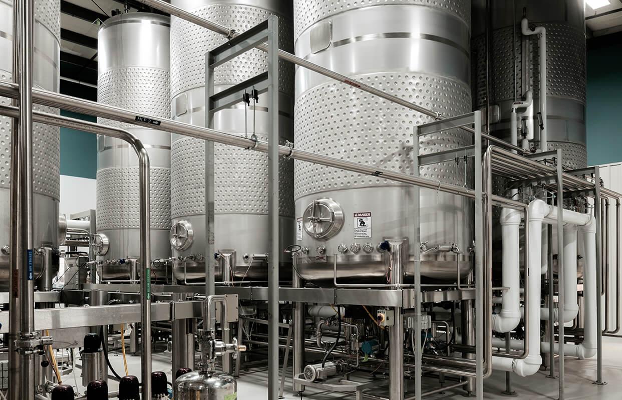 Bioreactors in Noblegen's Kingsway Fermentation Facility