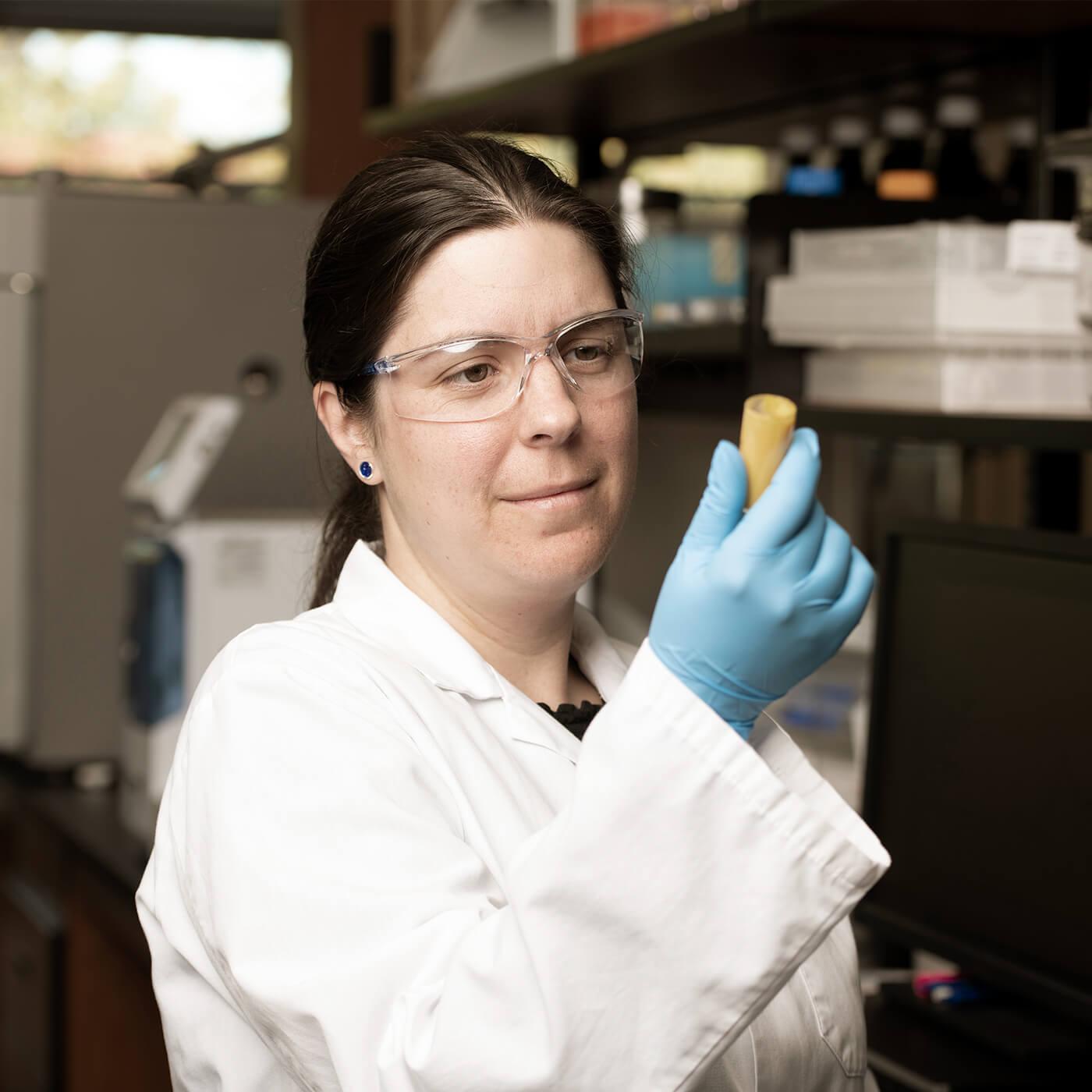 A Noblegen scientist at work