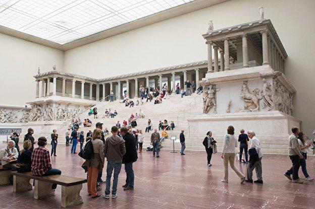 The Pergamon Museum in Berlin Germany.