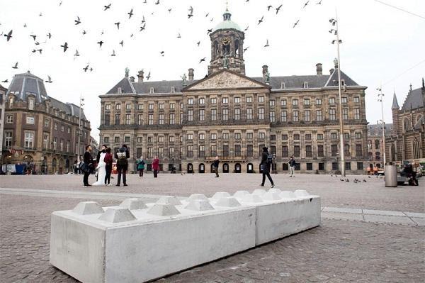 Royal palace old centrum Amsterdam