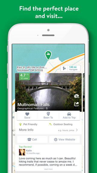 Road trip planning app