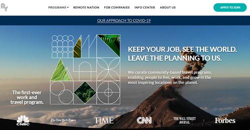 Remote Year Website