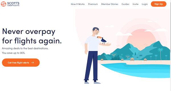 Scott's Cheap Flights Website