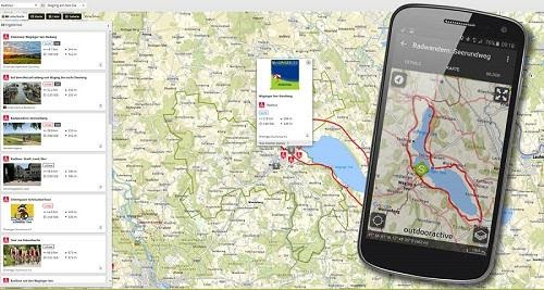Outdooractive Route Finder