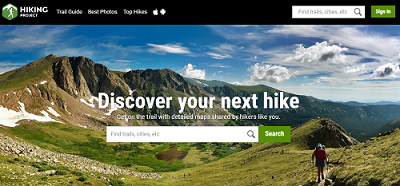 Hiking Project Website