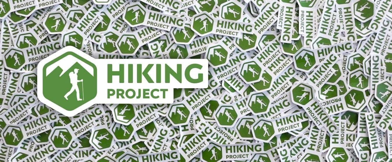 Hiking Project Sticker