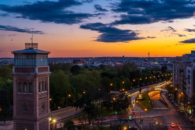 Madrid City View