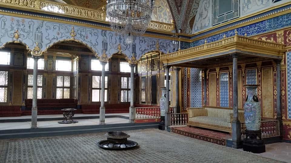 View of Topkapi Palace