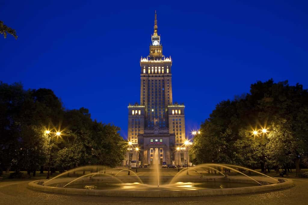 Palace of science and culture warsaw