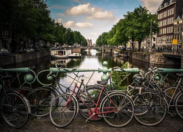 Canals of Amsterdam Netherlands