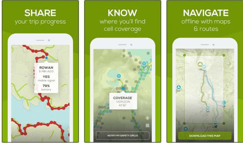 Cairn app features