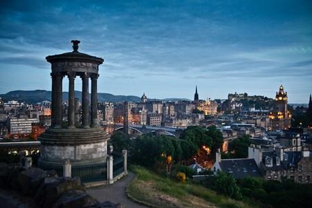 Harry Potter film scenery at Edinburgh