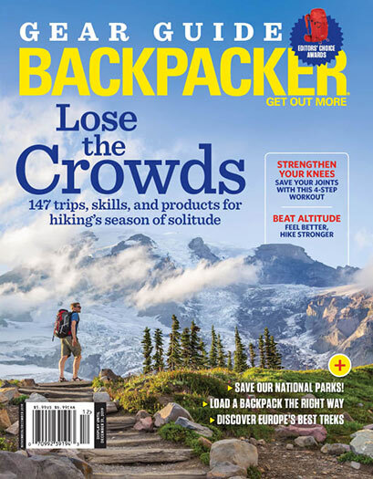 backpacker magazine gear guide preview online subscription based