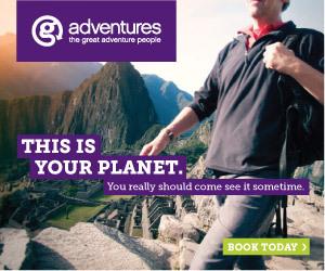 G adventures advertisement