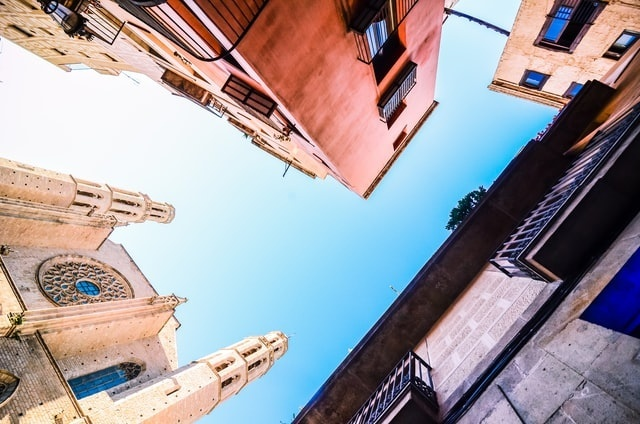 Cool buildings in barcelona
