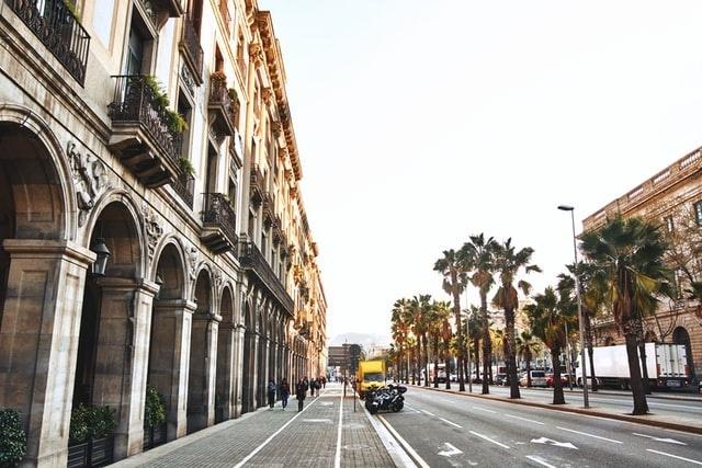 tourist hotspot in barcelona