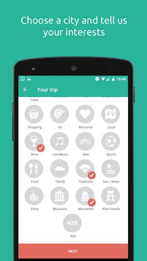 TripUniq App Preview