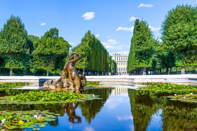 Schlosspark Schönbrunn Vienna attractions