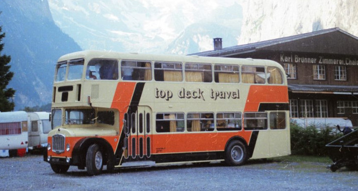 Topdeck double decker buses