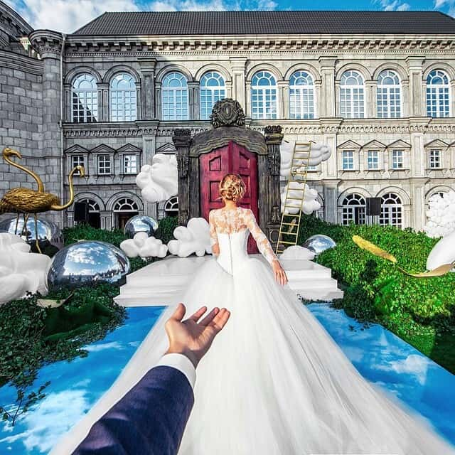 Murad Osmann follow me to wedding