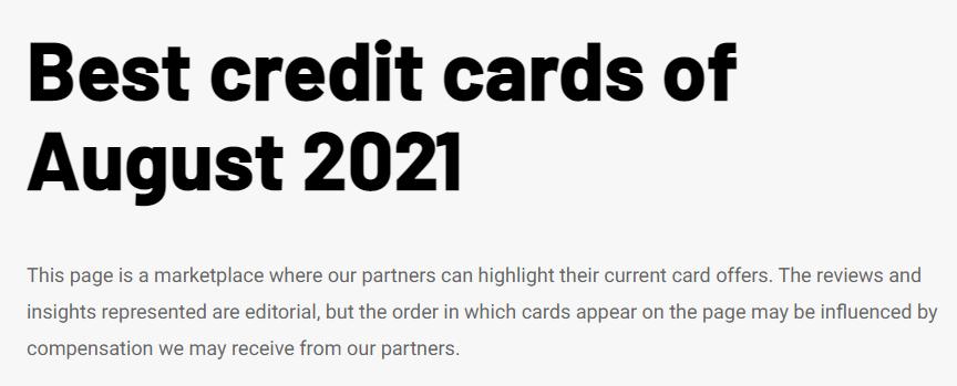 best credit cards 2021 description the points guy