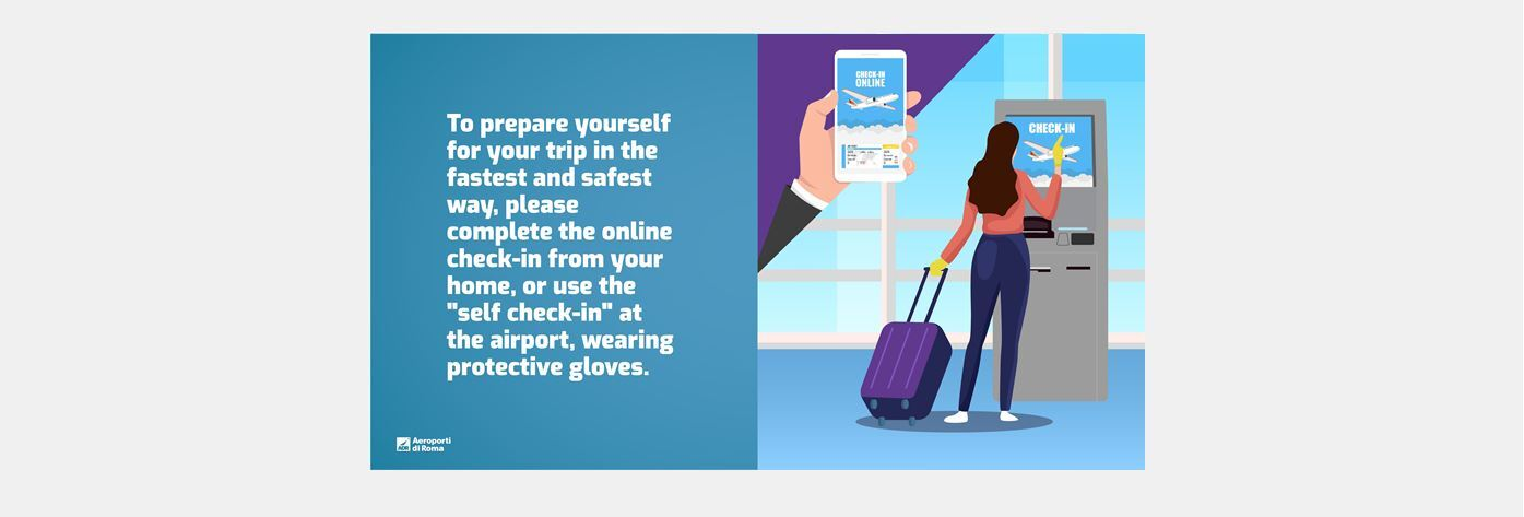 Rome airport travel advisory and information