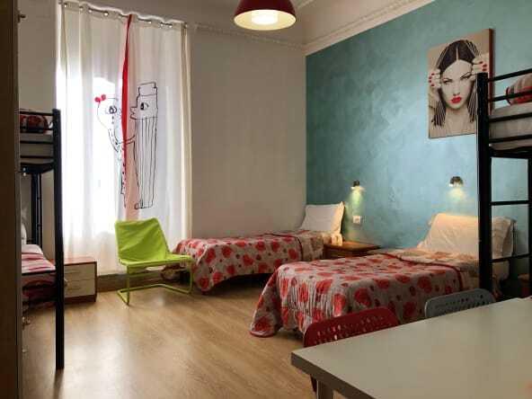 Freedom traveller's rome in hostel rome