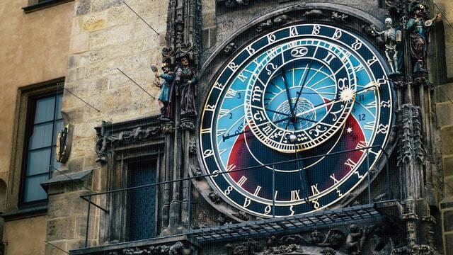 Prague clock tower