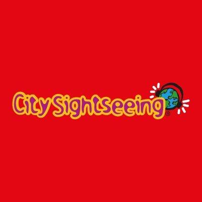 City sightseeing tour Amsterdam logo.
