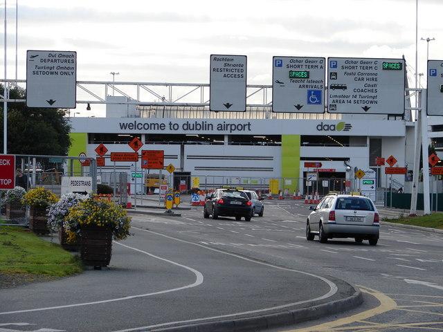 Dublin airport entrance