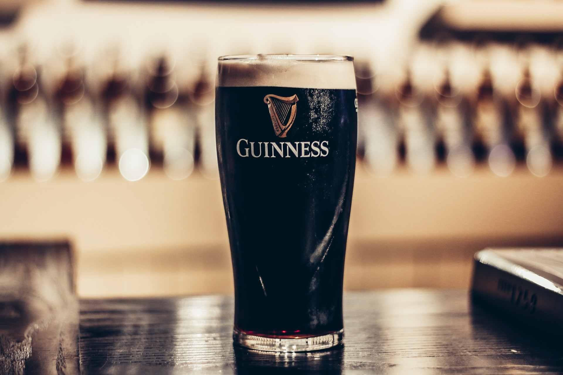 Dublin Guinness local beer.