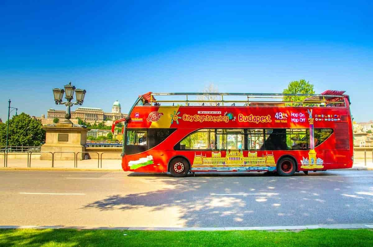 City sightseeing budapest hop on hop off bus.